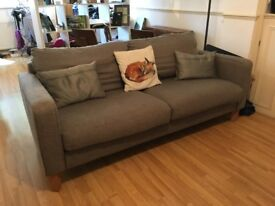 Moving House Sale! Grey Modern John Lewis Couch in Excellent Condition!