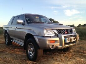 MITSUBISHI L200 WARRIOR LWB 2.5 TD 2003 LONG MOT