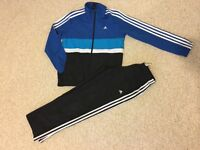 Boys Addidas truck suit 11-12 years