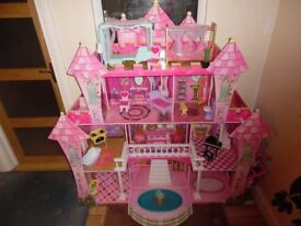 Highly Detailed Wooden Dolls House