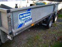 IFOR WILLIAMS 4 WHEEL 14ft TRAILER 2013