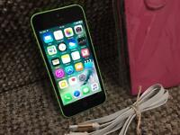 iPhone 5c 8gb green EE network