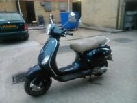 VESPA LX125 Midnight blue for sale, looking for a good home