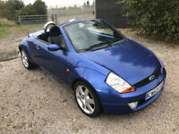 2003 Ford KA street Convertible - Low mileage only 65,000 - LONG MOT july 2018 - With Air Con