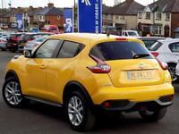 NISSAN JUKE 1.5 DCi ACENTA 5dr 110 BHP *Stunning In Sun Yellow (yellow) 2014