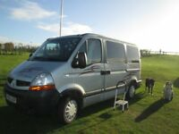 Campervan with good service history, 3 seater at front. MOT up to date till Dec 18,good runner on .