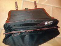 Burgundy Leather Briefcase