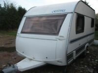 cristall samoa 2005 caravan 2/3 berth for sale vgc