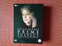 """TV """"PRIME SUSPECT"""" COMPLETE SERIES 10 DVD BOXSET"""