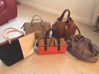 Selection ladies handbags