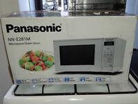PANASONIC NN-E281MMBPQ Solo Microwave - Silver