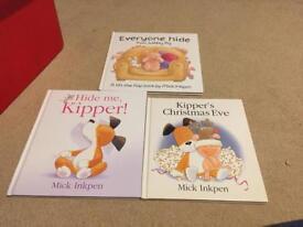 Kipper/Wibbly pig books