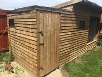 Large wooden animal house with electrical sockets, perfect for dogs, cats, larger birds etc.