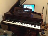 Digital baby grand piano See Description