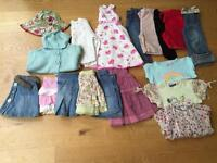 Bundle of girls clothes age 1-2 yrs