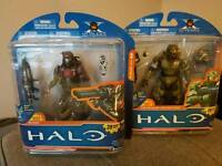Halo Figures, new in box