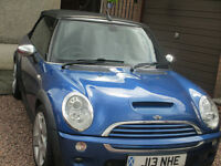 Mini Cooper S Convertible High Specification & Loads of New Parts 54 plate