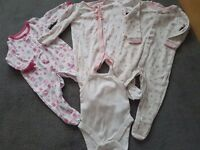 baby girl 0-3 months clothes bundle 27 pieces antrim