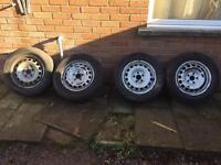 VW Caddy Wheels & Tyres 195 65 15