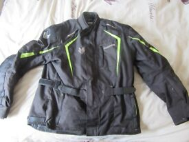 XXL Frank Thomas Textile Waterproof Motorbike Jacket