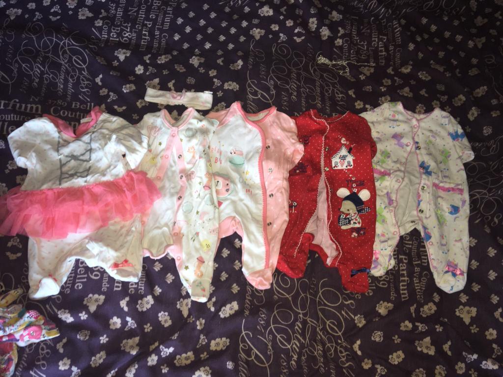 newborn girl bundle