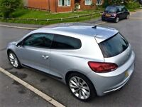 QUICK SALE! VW SCIROCCO 2 LITRE TSI GT DSG 200BHP! FSH AND HPI CLEAR GOLF GTI