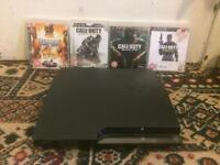 Slim PS3 120GB With Games