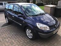 2004 Renault scenic 1.9 7 seater diesel