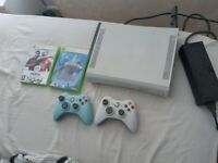 !!SOLD STC!! 60gb xbox 360 2 controllers and a couple of ganes