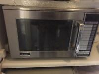 Sharp Commercial 1900w microwave