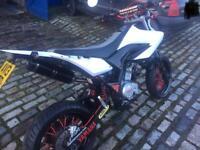 Yamaha wr125x 2013 supermoto
