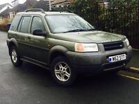 2000 LANDROVER FREELANDER- FSH - FREE DELIVERY - WARRANTY AVAILABLE