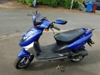 Direct Bike Ninja Mopped Scooter