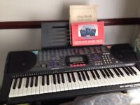 Casio electric musical organ .very good condition only used a few times ctk.-620L