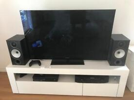 Sony 46 inch LED + 4x3D Glasses + Monitor Audio Bronze BXR2 + Marantz NR1602