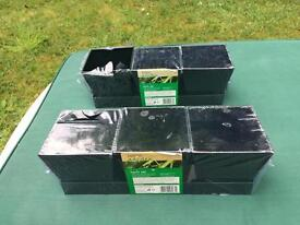 Herb sets 3 pots in tray still in packaging x 2