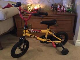 """Digger bugg bike 12"""" with stabilisers"""