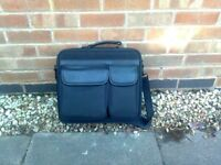 Quality laptop bag and travel/work case, as new.