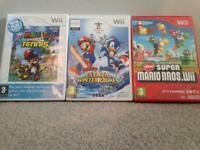 Mario games for wii