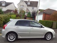 (2007) TOYOTA COROLLA 1.6 SR VVTi 5dr 1 OWNER/ONLY 40K MILES/FSH/9 STAMPS/FREE DELIVERY/MOT/TAX/FUEL