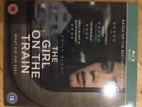 New sealed The Girl On The Train Blu Ray