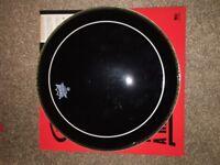 REMO pinstripe dark 14 inch drum head