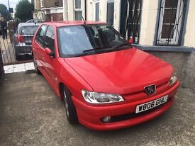 Red Peugeot 306 for sale