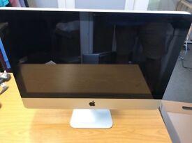 """Apple iMac A1311 i5 2.5 4 500 dvd webcam 21.5"""" El capitan loaded"""