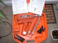 paslode im350 cordless nail gun first fix
