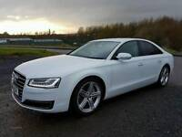 MARCH 2014 Audi A8 SPORT EXEC TDI QUATTRO AUTO, 1 OWNER, FSH*NEW MODEL*