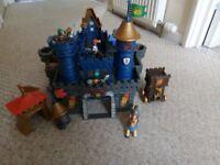 Kids knight castle & figures