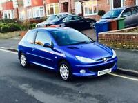 2009 Peugeot 206 1.4 With MOT, Full Service History, Low Mileage, 1 Former Keeper, Cheap 4 Insurance