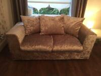 REDUCED!! 2 x Beautiful Velvet Sofas