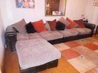 Brown sofa - SCS